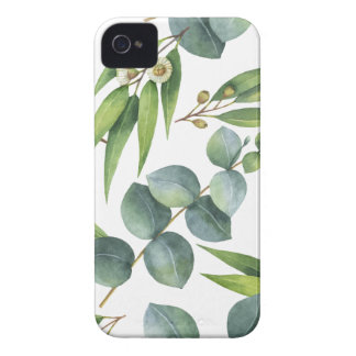 Eucalyptus Foliage Pattern iPhone 4 Case-Mate Case