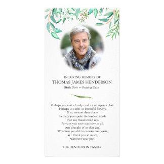 Eucalyptus Funeral Thank You Card