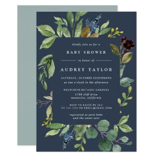 Eucalyptus Grove Baby Shower Invitation