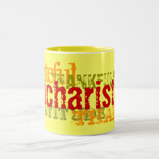 Eucharisteo Two-Tone Coffee Mug