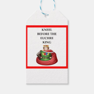 EUCHRE GIFT TAGS