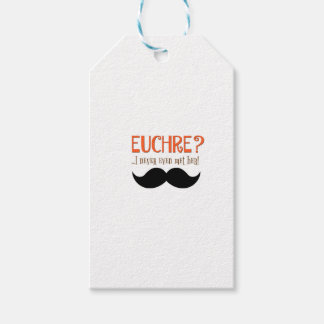 EUCHRE? I Never Even Met Her! Gift Tags