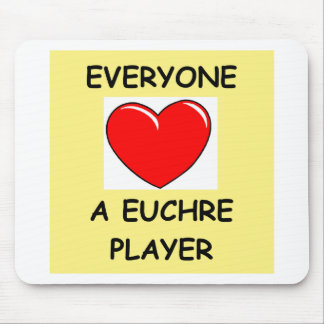 euchre mouse pad