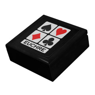 Euchre Player gift box