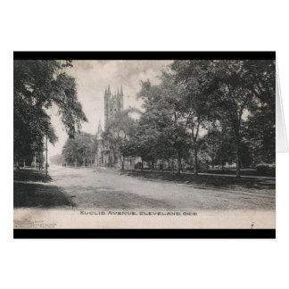 Euclid Ave., Cleveland, Ohio 1906 Vintage Card