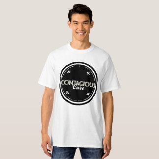 #EuContagio Contagious Cure White/Black T-Shirt