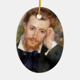 Eugène Murer - Oil on Canvas Ceramic Ornament