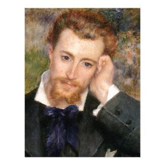 Eugène Murer - Oil on Canvas Letterhead