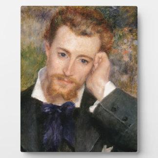 Eugène Murer - Oil on Canvas Plaque