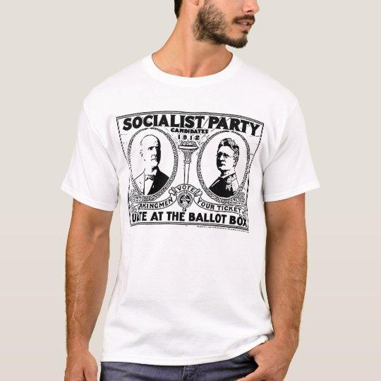 Eugene Debs Campaign Poster T-shirt