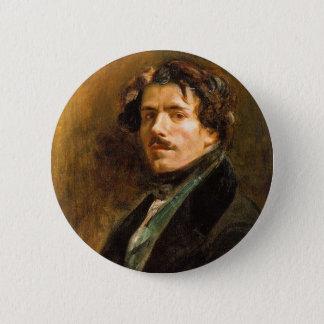 Eugene Delacroix 2 Inch Round Button
