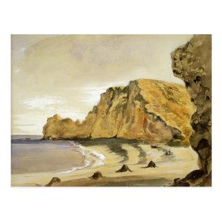 Eugene Delacroix: The Porte d'Amont, Etretat Postcard