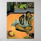 Eugene Henri Paul Gauguin - the pout Poster