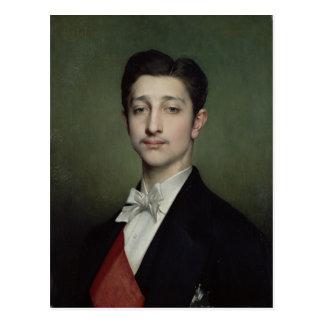 Eugene-Louis-Napoleon Bonaparte  1874 Postcard