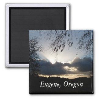 Eugene, Oregon Square Magnet