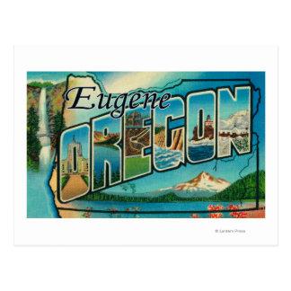 Eugene, OregonLarge Letter ScenesEugene, OR Postcard