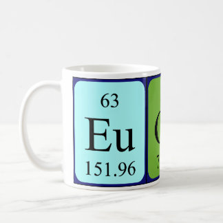 Eugene periodic table name mug