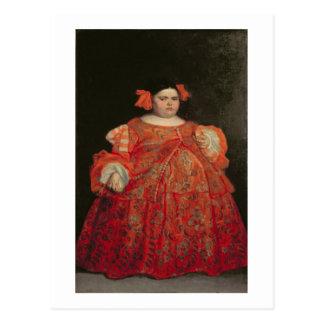 Eugenia Martinez Vallejo, called La Monstrua (oil Postcard