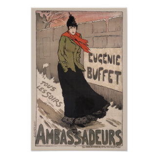 Eugénie Buffet - Ambassadeurs Poster