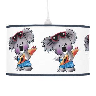 Euki the Surf Koala Children's Room Pendant Lamp