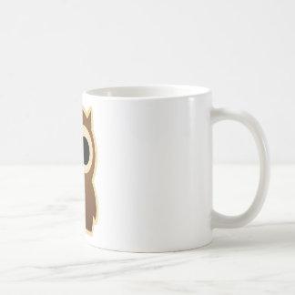 Eulchen/Käuzchen Basic White Mug
