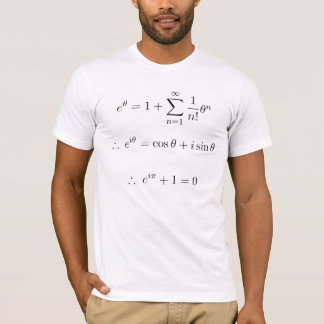 Euler explained: summation T-Shirt