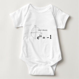 Euler Identity Formula Baby Bodysuit