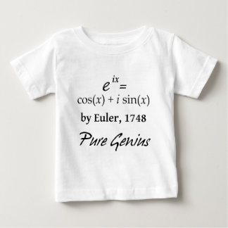 Euler's Formula Baby T-Shirt