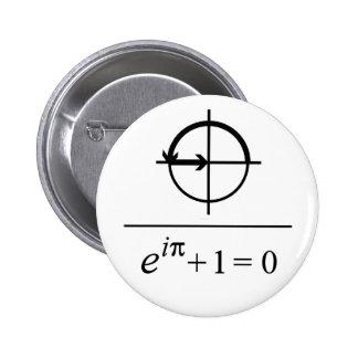Euler's Identity 2 Inch Round Button