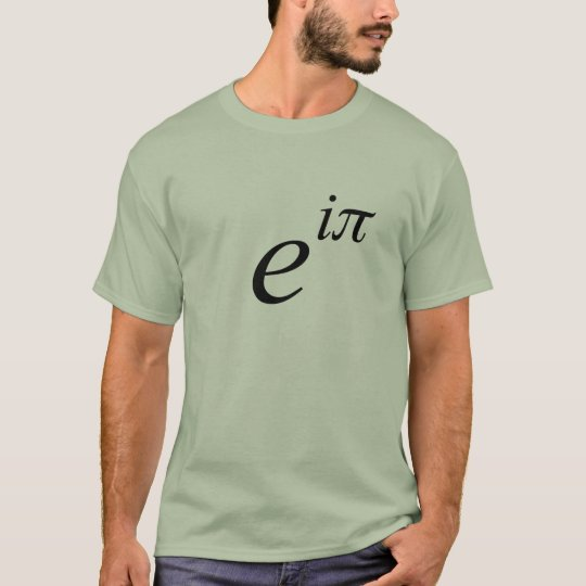 Eulers_Identity - Customized T-Shirt
