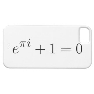 Euler's identity iPhone 5 case