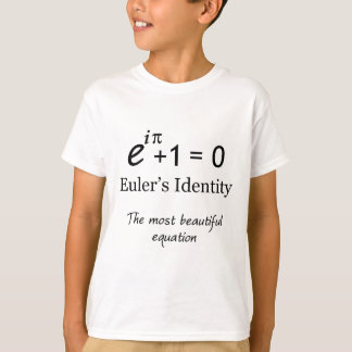 Euler's Identity - the most beautiful equation T-Shirt