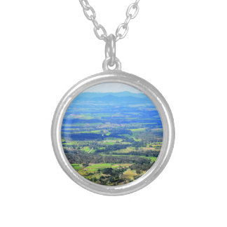 EUNGELLA NATIONAL PARK QUEENSLAND AUSTRALIA SILVER PLATED NECKLACE