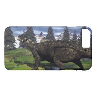 Euoplocephalus dinosaur - 3D render iPhone 8 Plus/7 Plus Case