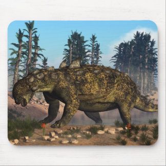Euoplocephalus dinosaur - 3D render Mouse Pad