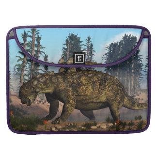 Euoplocephalus dinosaur - 3D render Sleeve For MacBook Pro
