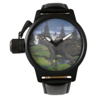 Euoplocephalus dinosaur - 3D render Wristwatches