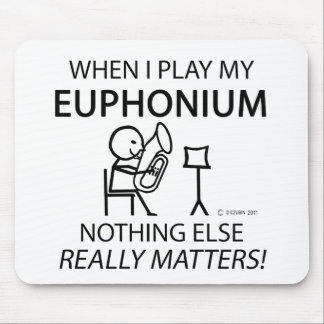 Euphonium Nothing Else Matters Mouse Pad
