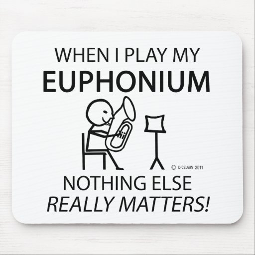 Euphonium Nothing Else Matters Mouse Pads