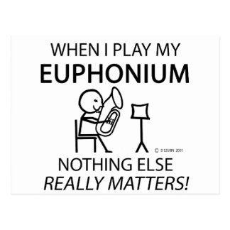 Euphonium Nothing Else Matters Post Card