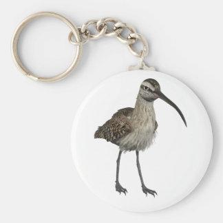 Eurasian Curlew Basic Round Button Keychain