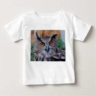 Eurasian Eagle Owl Baby T-Shirt