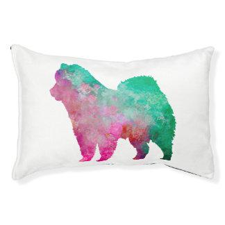 Eurasian in watercolor pet bed