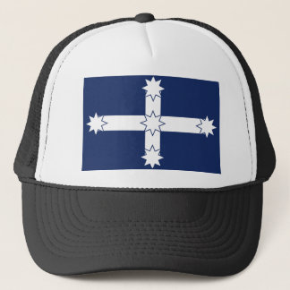 eureka flag trucker hat