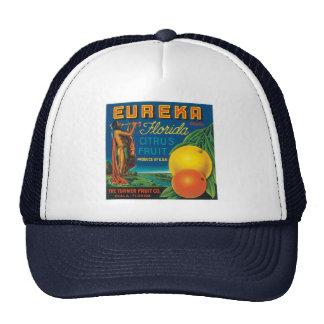 Eureka Florida Citrus Fruit Trucker Hat