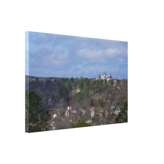 Eureka Hill Side Canvas Print