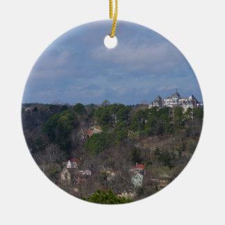 Eureka Hill Side Ceramic Ornament