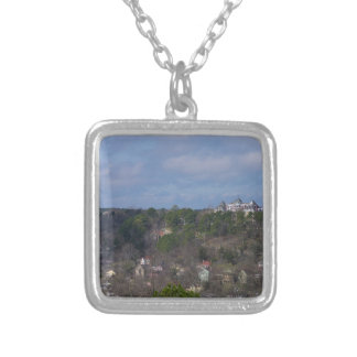 Eureka Hill Side Silver Plated Necklace