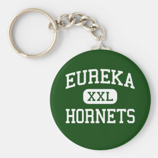 Eureka - Hornets - High School - Eureka Illinois Keychain