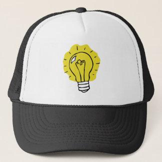 Eureka! Idea Lightbulb Illustration Hat